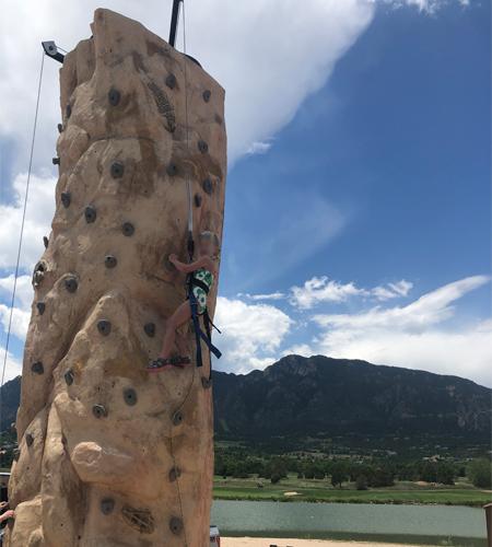 20' Mobile Rock Climbing Wall