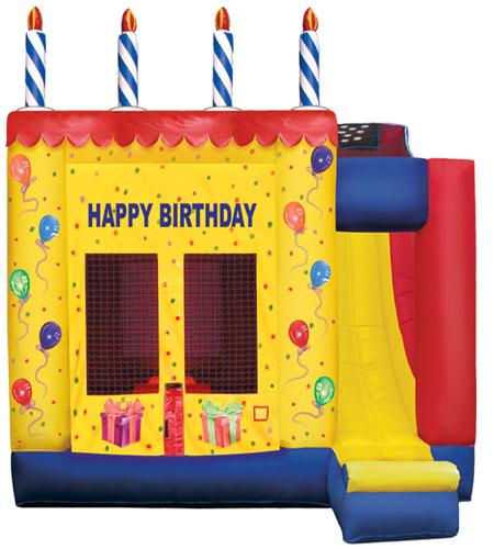 Birthday Cake 4 in 1 Combo