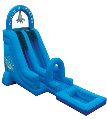 18' Dolphin Express Water Slide