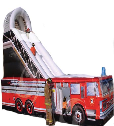 18' Fire Truck Slide