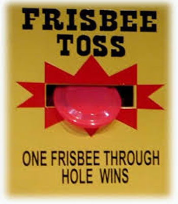 Frisbee Toss Carnival Game