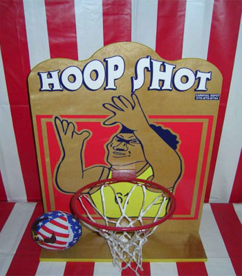 Hoop Shot Carnival Game
