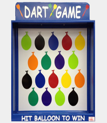 Magnetic Dart Carnival Game