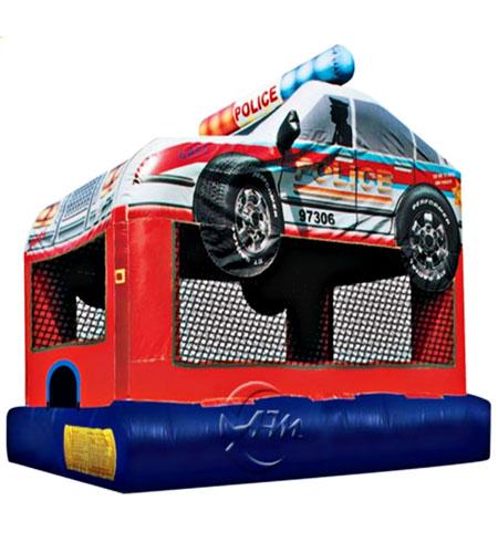 Police Car Bouncer