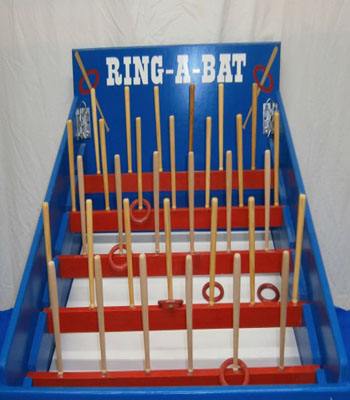 Ring A Bat Carnival Game