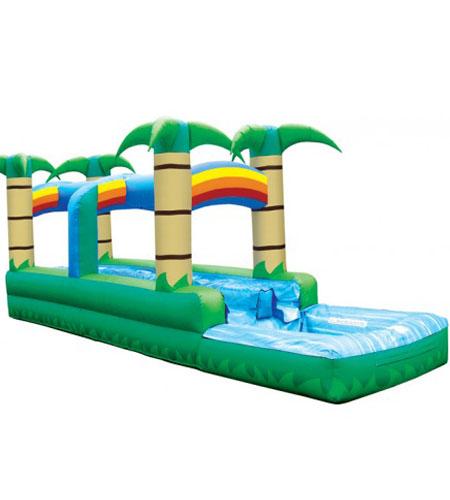 Run 'N' Splash Tropical Water Slide