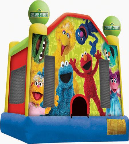 Sesame Street Bouncer
