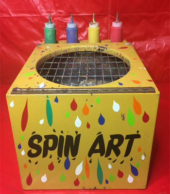 Spin Art Carnival Game