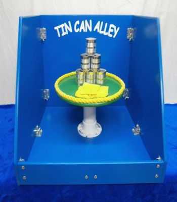 Tin Can Alley Carnival Game