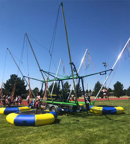 V5 Ultimate Bungee Trampoline (Call To Reserve)