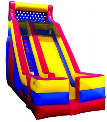 18' Backyard Slide