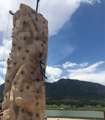 20' Mobile Rock Climbing Wall