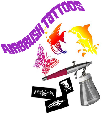 Airbrush Tattoos - Face Painting Station