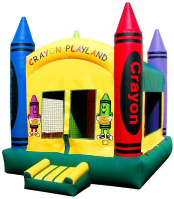 Crayon Playland Bouncer