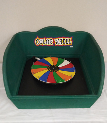 Color Wheel Carnival Game