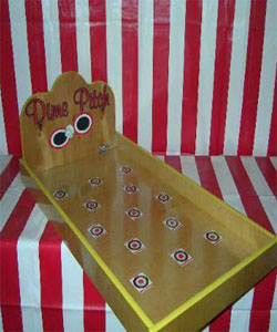 Dime Pitch Carnival Game