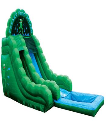 18' Freaky Frog Water Slide