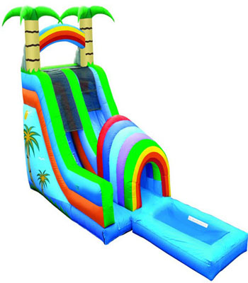 18' Funnel Tunnel Water Slide