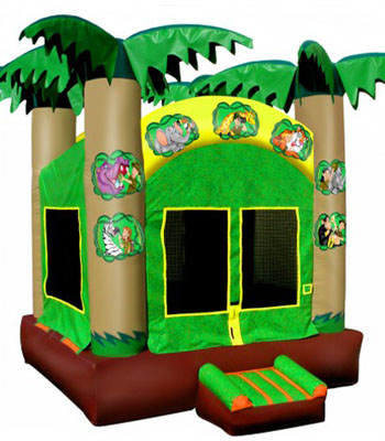 Jungle Adventure Bouncer