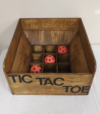 Tic Tac Toe Carnival Game (Wooden)