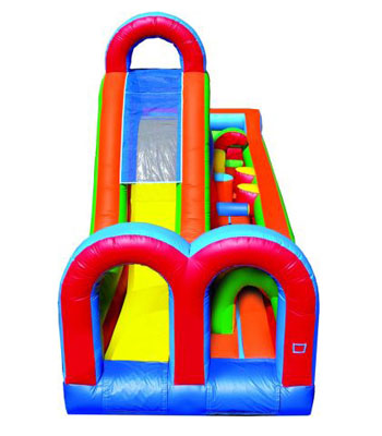 Turbo Rush Obstacle Course A One Piece