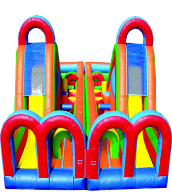 Turbo Rush Obstacle Course Both Pieces