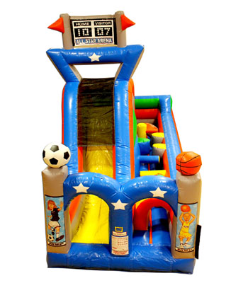 Turbo Rush Sports Arena Obstacle Course A One Piece