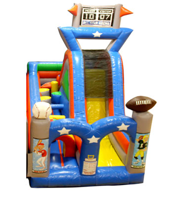 Turbo Rush Sports Arena Obstacle Course B One Piece